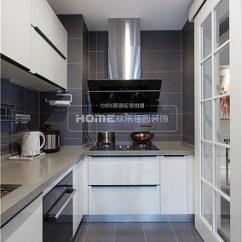 Kitchen Armoire White Cabinets Home Depot 壁橱装修效果图大全2017图片 壁橱设计 土巴兔效果图 120m 现代简约厨房设计图