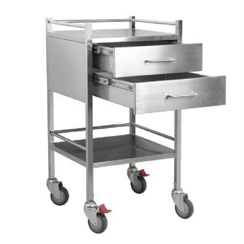 kitchen cart with drawers cabinet knobs ideas 产品涵盖了实验室推车 产品大全 上海兆庭五金机械有限公司 兆庭304不锈钢医用推车双层治疗车手术室推车实验