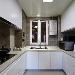 Lowes Kitchens Primal Kitchen 简约风格低调灰色厨房橱柜图片欣赏 兔狗装修效果图