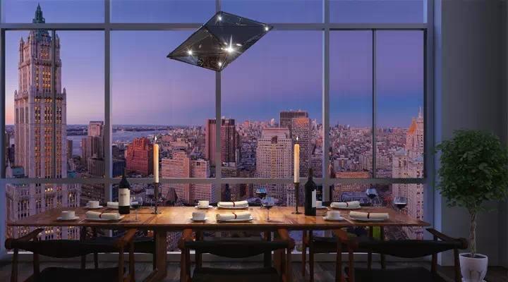 custom kitchen islands microfibres rug 纽约the beekman超凡公寓,穿梭在具有传奇色彩的豪华殿堂中-异乡好居网