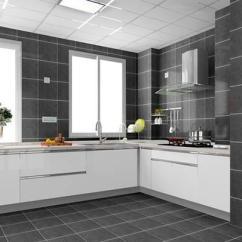 Floor Tile For Kitchen Pull Up Cabinets 一字型厨房地砖铺贴有讲究 要注意这几点 维客网装修资讯 厨房地砖