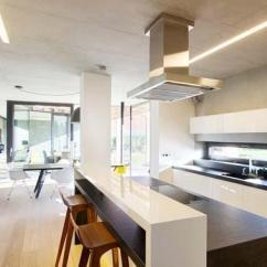 Kitchen Bar Designs Sink Stainless Steel 白色开放式厨房厨房吧台设计图效果图 维客网装修效果图 收藏 找ta设计