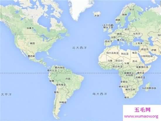 七大洲四大洋分別是哪些 面積最小的是北冰洋-五毛網