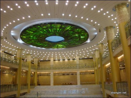 山东省博物馆的大厅