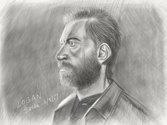 A sketch of Logan. by Jieshu Wang