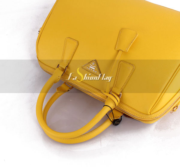 Prada-2013-Saffiano-patent-leather-tote-0823-in-Yellow-11