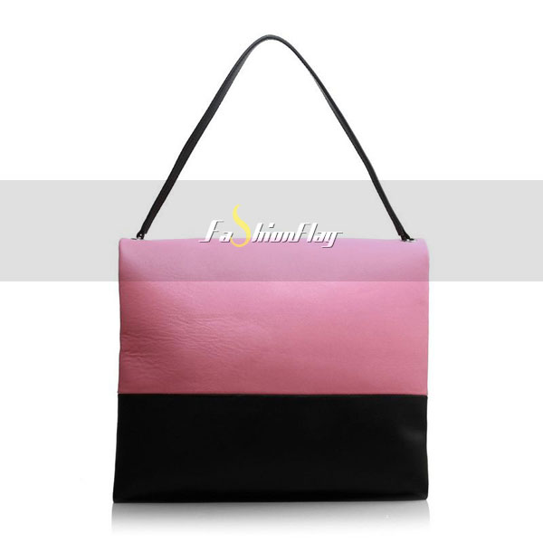 Celine-2013-All-Soft-in-Calfskin-Shoulder-Bag-3409-in-Pink-and-Black-03
