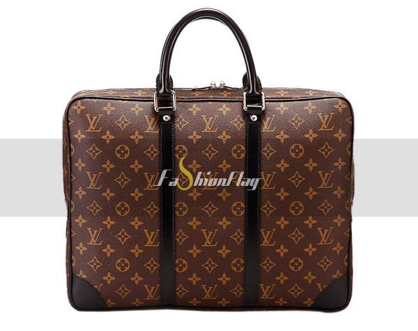 Louis-Vuitton-Monogram-Macassar-Canvas-Porte-Documents-Voyage