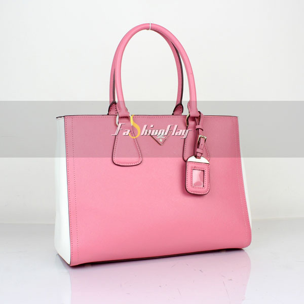 Prada-2013-Saffiano-patent-leather-tote-2438---Pink-White-a