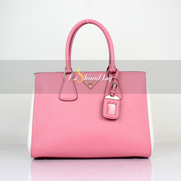 Prada-2013-Saffiano-patent-leather-tote-2438---Pink-White