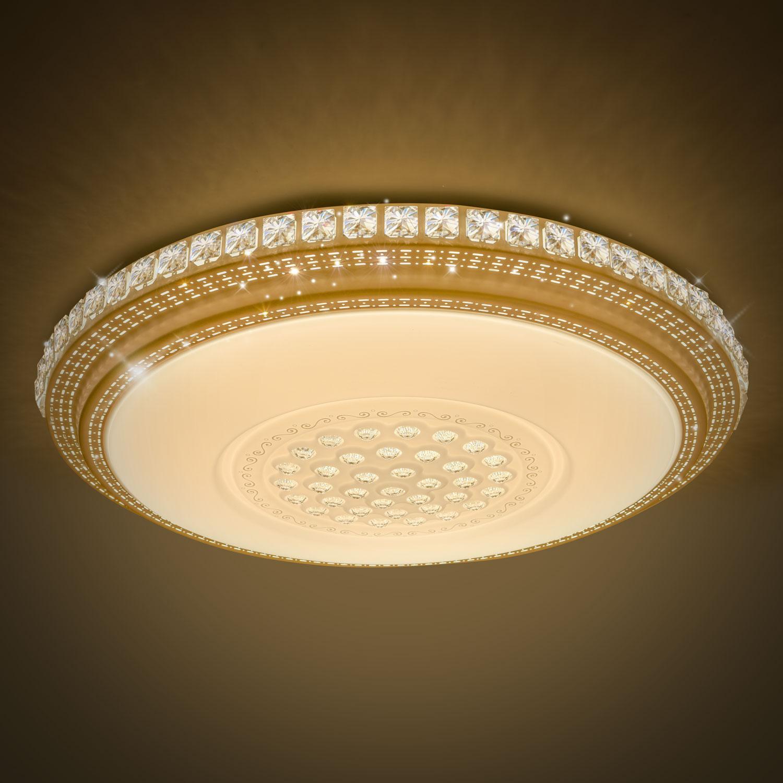 LED Kristall Deckenleuchte Schlafzimmer Deckenlampe Badleuchte Licht Flur Lampe  eBay