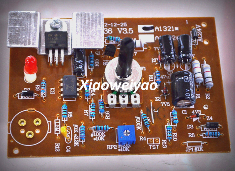 Use The 936 Transformer Soldering Station Controller Circuit Board For