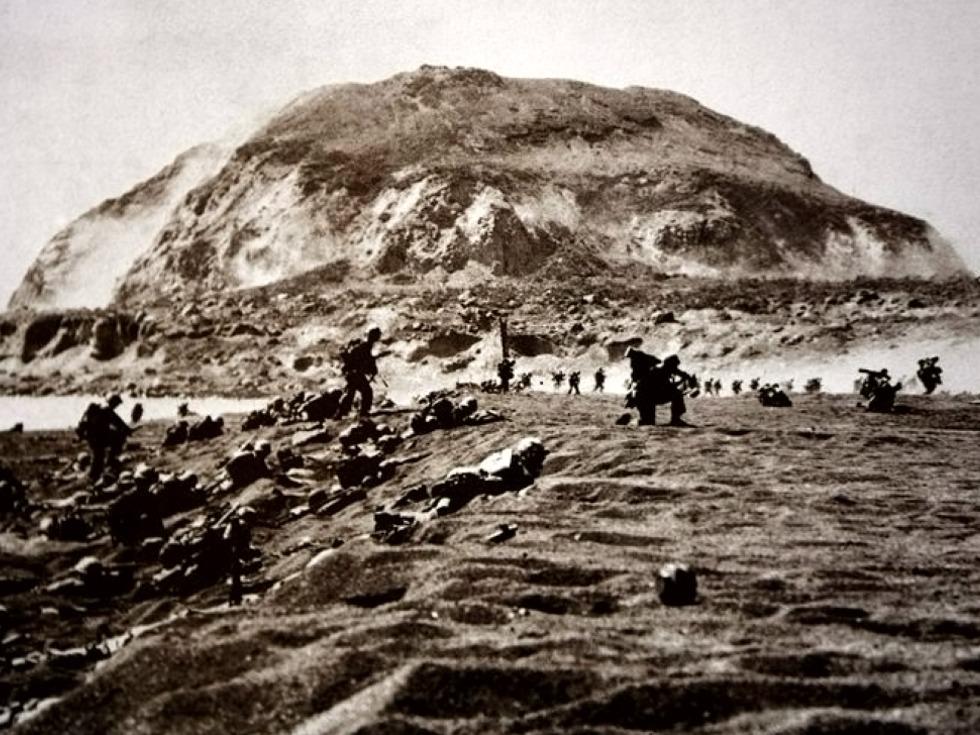 太平洋絞肉機:重挫美軍的硫磺島戰役_歷史-多維新聞網