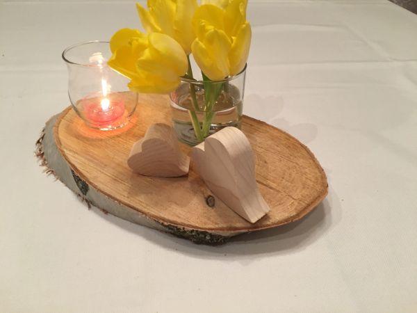 Holzscheiben Baumscheiben Hochzeit Dekorieren Basteln Tischdeko Geburtstag in Amberg