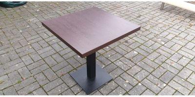 Gastro Gastronomie Tische 70x70cm   76cm hoch in Hard ...