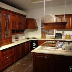 Kitchen Cabinet Styles Style Ideas 美式风格厨房整体厨柜图片 58装修效果图