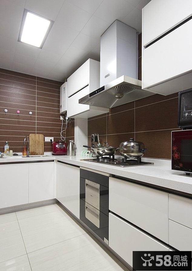 decoration kitchen recycled kitchens 美式简约装饰厨房设计室内效果图 58装修效果图