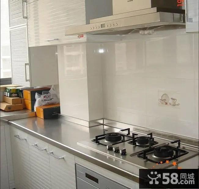 countertops kitchen cork floor 简约风格厨房不锈钢台面图片 58装修效果图