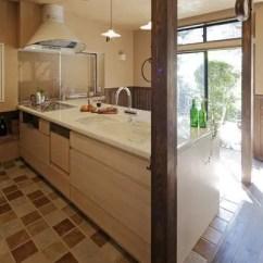 Kitchen Floor Covering Zester Tool 美式乡村风格厨房地板砖效果图 58装修效果图
