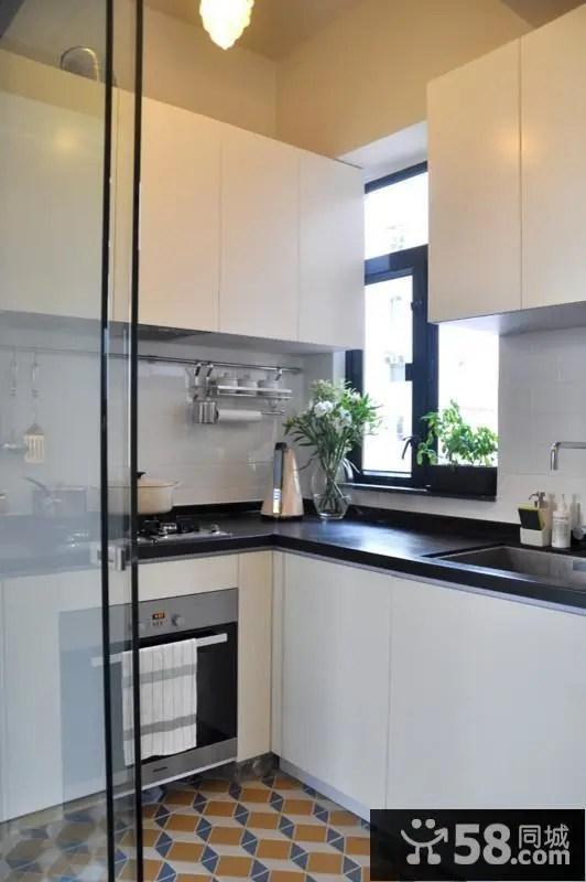 kitchen designs islands 厨房设计效果图大全 58同城装修效果图大全 简约小户型厨房设计大全
