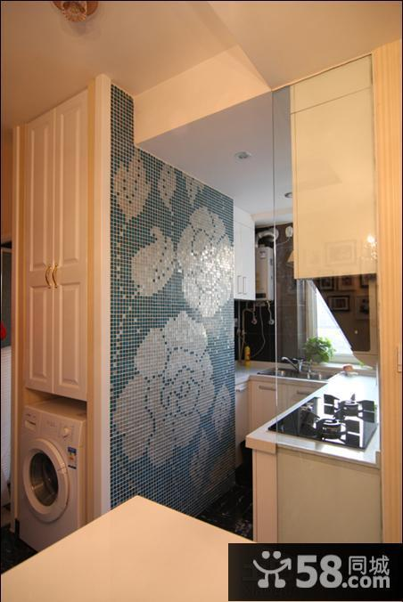 kitchen mosaic chair slipcovers 小厨房马赛克背景墙效果图欣赏 58装修效果图