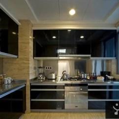 Modern Kitchen Images Banquette Furniture 现代厨房不锈钢橱柜装修效果图片 58装修效果图