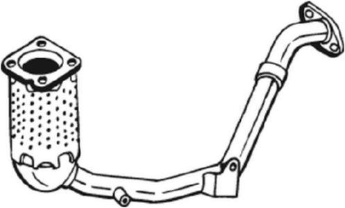 Katalysator voor de Citroën Xsara Picasso (CH) 1.6