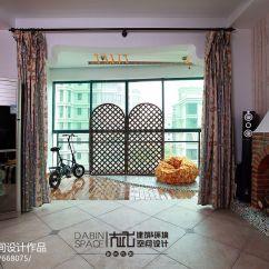 Kitchen Rental Showrooms Ma 家装简欧小客厅和阳台打通放置小物品设计图片 – 设计本装修效果图