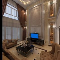 Complete Kitchen Pan Rack 十米挑高客厅设计_845971 – 设计本装修效果图