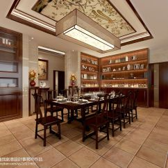 Kitchen Showrooms Boos Islands 中式餐厅横梁吊顶装修设计效果图 – 设计本装修效果图