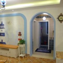 Small Kitchen Bar Childrens Play Sets 清新宜人地中海风格客厅装修效果图 – 设计本装修效果图