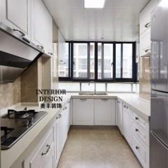 Kitchen Floor Covering Hotels With Full Kitchens 厨房地板地砖装修效果图 设计本 简约美式厨房地板砖装修效果图