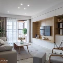 Kitchen Tile Floor Beautiful Islands 142m²日式客厅装修效果图 – 设计本装修效果图