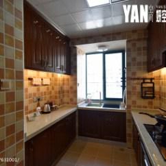 Kitchen Mosaic Cabinets Hinges 厨房马赛克装修效果图 设计本 美式风格厨房马赛克瓷砖图片
