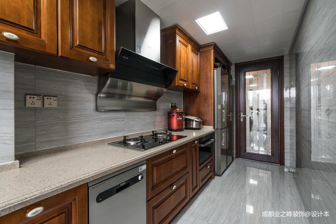 kitchen designer and bathroom cabinets 中式禅茶一味 宁静致远 设计师胡东宇厨房设计 设计本装修效果图