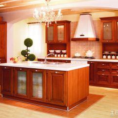 Modern Kitchen Stools Diy Refacing Cabinets 美式红木橱柜_土巴兔装修效果图