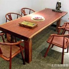 Kitchen Glass Table 42 Cabinets 长方形实木餐桌_土巴兔装修效果图