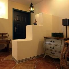 Retro Kids Kitchen Decorative Canisters 西班牙风格家居玄关装修效果图_土巴兔装修效果图