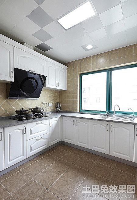 kitchen decor yellow lg suite 厨房吊顶图片大全_土巴兔装修效果图
