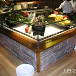 Ikea Kitchen Counter Pegasus Faucets 玻璃柜台装修_土巴兔装修效果图