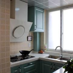 Kitchen Black Cabinets Window Valances 最新厨房集成吊顶效果图片_土巴兔装修效果图