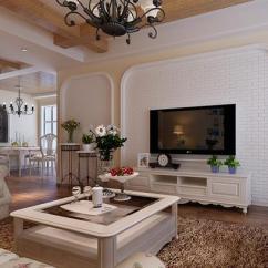 Wall Tile Kitchen Cabinets Cost 白砖背景墙图_土巴兔装修效果图