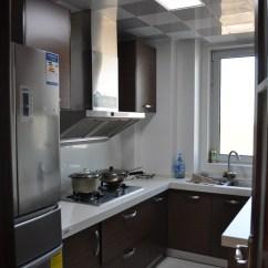Small Kitchen Bar Unfinished Base Cabinets 小厨房集成吊顶效果图_土巴兔装修效果图
