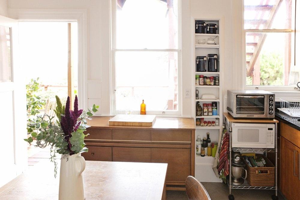 metal kitchen rack knife set 厨房置物架图片_土巴兔装修效果图