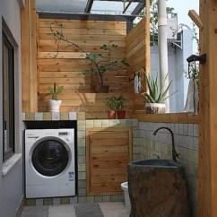 Kitchen Crock Corner Base Cabinet 生活阳台洗衣机装修效果图_土巴兔装修效果图
