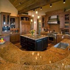 Black Kitchen Appliances Affordable Table Sets 豪华厨房图片_土巴兔装修效果图