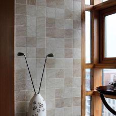 grey kitchen tile make a island 阳台墙面贴瓷砖装修效果图_土巴兔装修效果图
