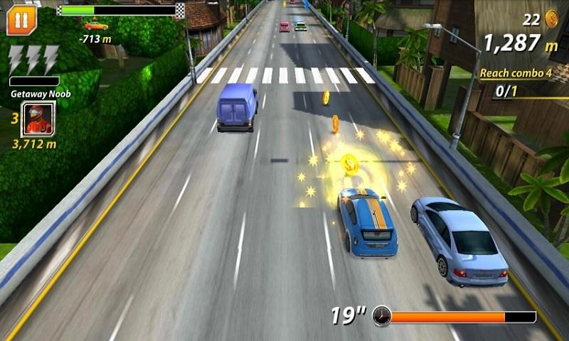 公路賽車破解版_公路賽車(Road Car Chase)無限金幣破解版下載_公路賽車4.3安卓破解版下載_騎士助手