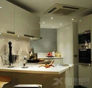 kitchen loans rooster rugs for the 最新橱柜吧台效果图