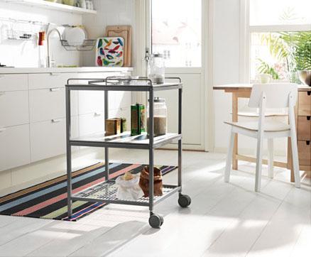 small kitchen carts brick backsplash 你的厨房,缺少一个中岛台